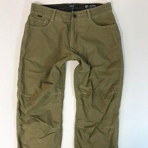 Kuhl Mens Pants Size 34x30 Earth Tone